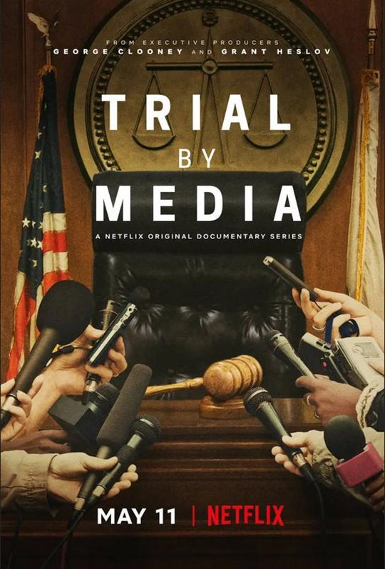 Trial by Media (Netflix) Large Poster