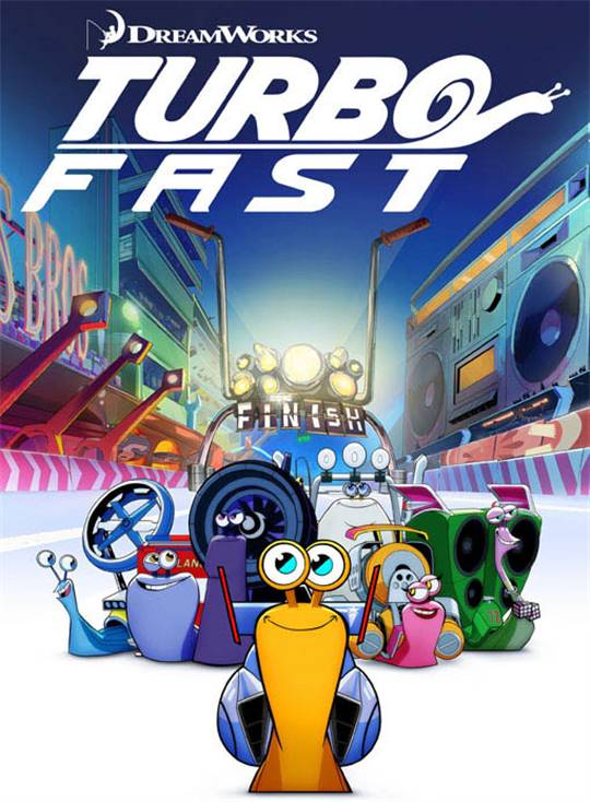 Turbo FAST Large Poster