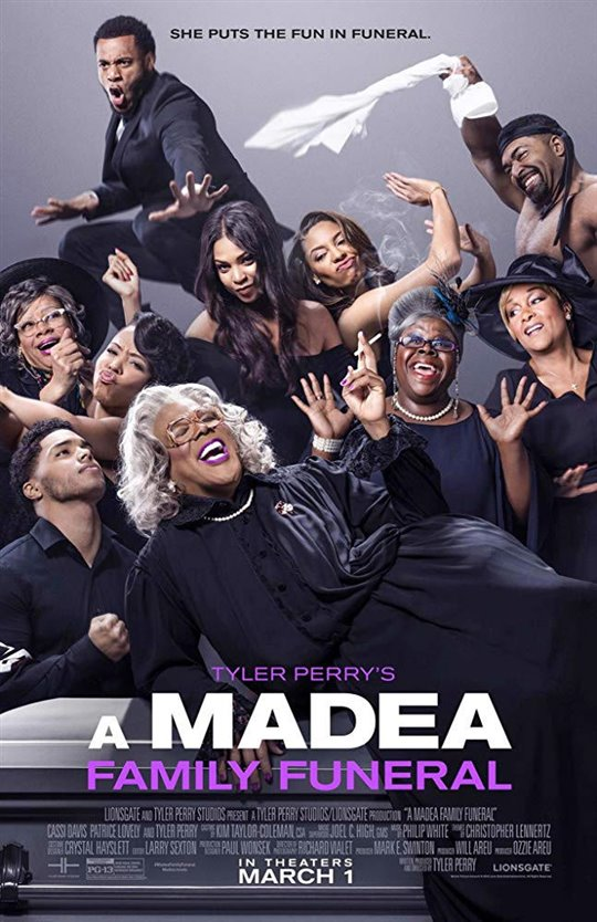 Tyler Perry's A Madea Family Funeral (v.o.a.) Large Poster