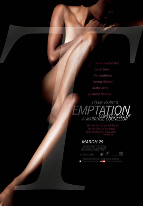 Tyler Perry's Temptation: Confessions of a Marriage Counselor Large Poster