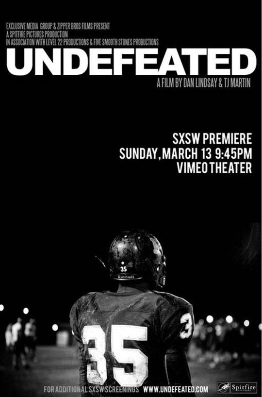 Undefeated Large Poster