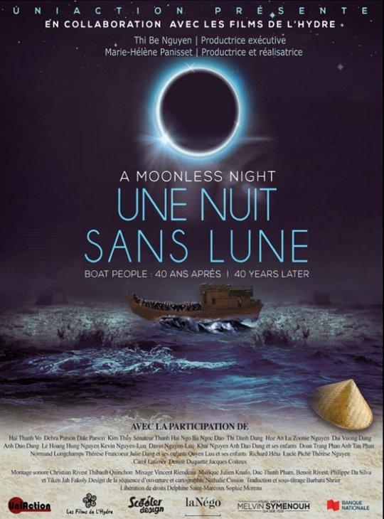 Une nuit sans lune : Boat people, 40 ans après Large Poster