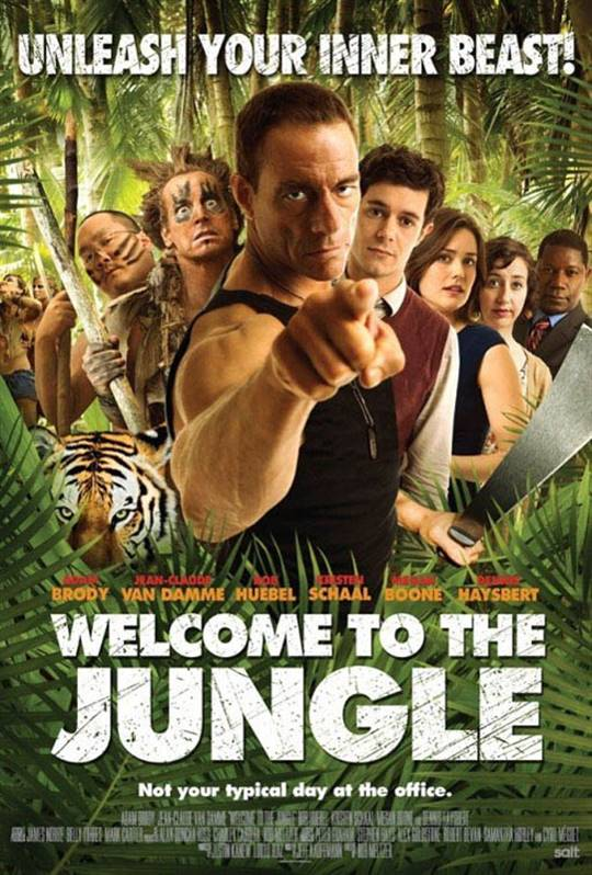 Welcome to the Jungle Large Poster