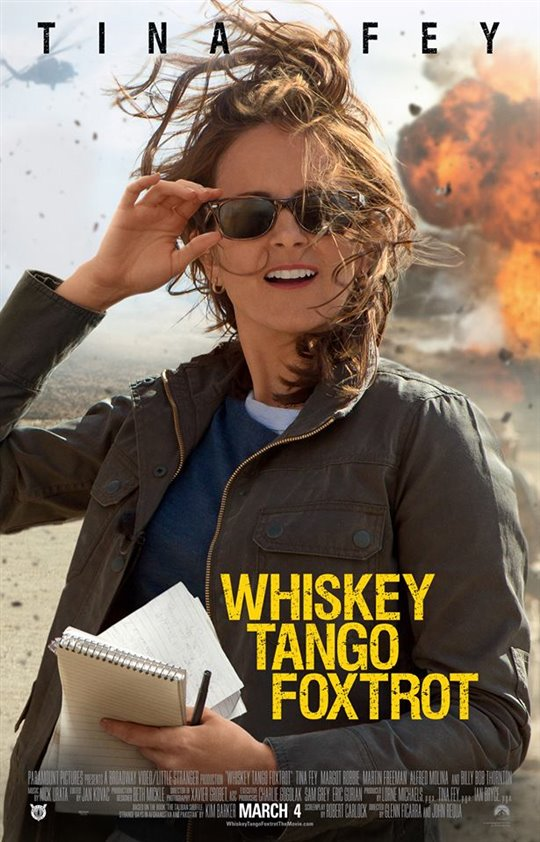 Whiskey Tango Foxtrot Large Poster