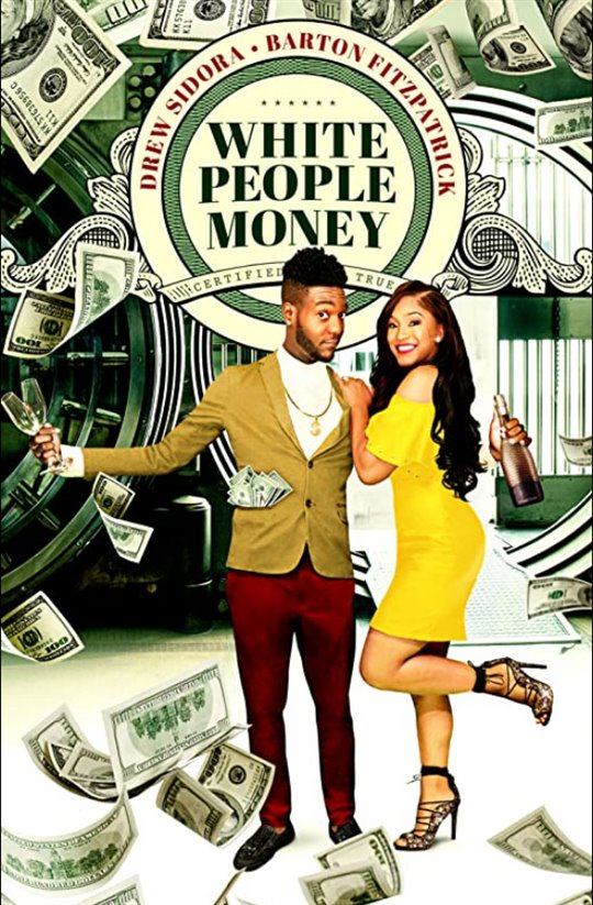 White People Money Large Poster