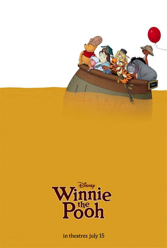 Winnie the Pooh Large Poster