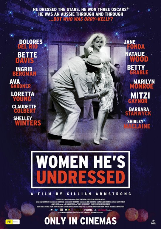 Women He's Undressed Large Poster