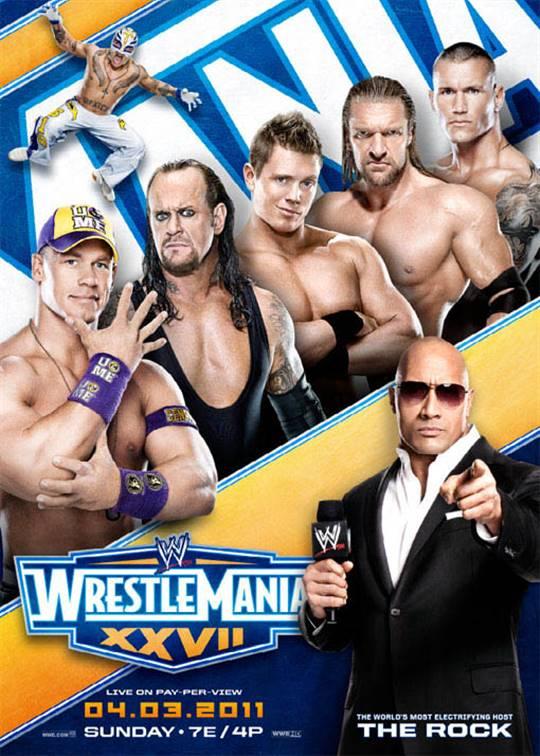 WWE: Wrestlemania XXVII Large Poster