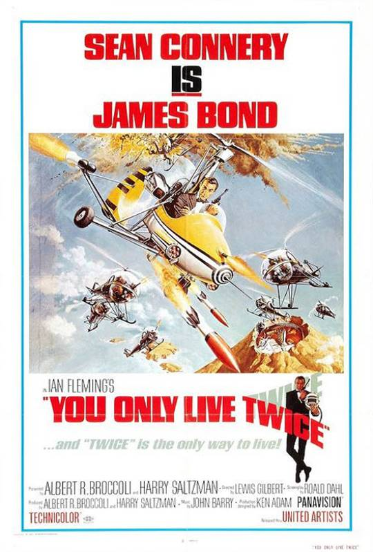 You Only Live Twice Large Poster