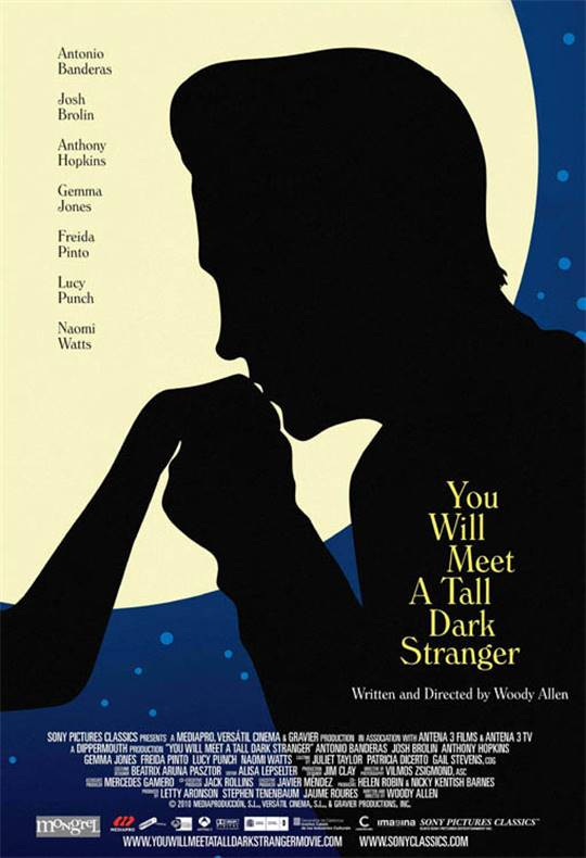 You Will Meet a Tall Dark Stranger Large Poster