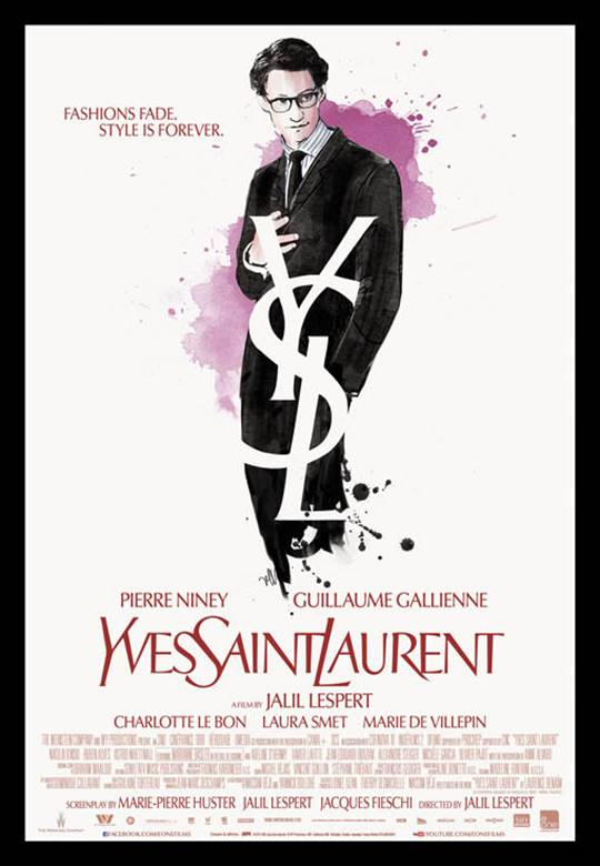 Yves Saint Laurent Large Poster