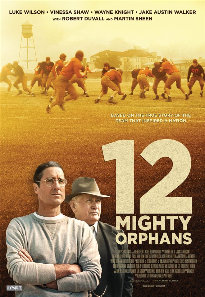 12 Mighty Orphans Large Poster