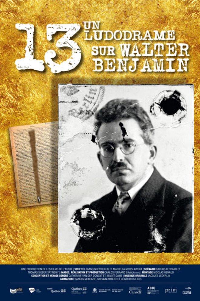 13, a Ludodrama about Walter Benjamin Large Poster