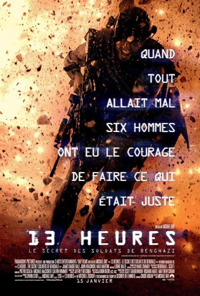 13 heures : Le secret des soldats de Benghazi Large Poster