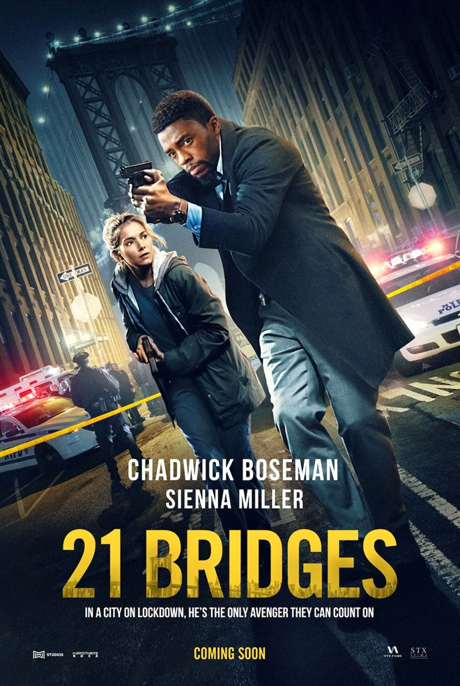 21 Bridges Large Poster