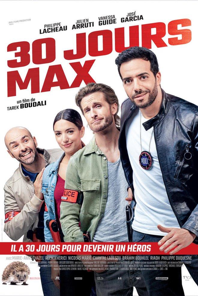 30 jours max (v.o.f.) Large Poster