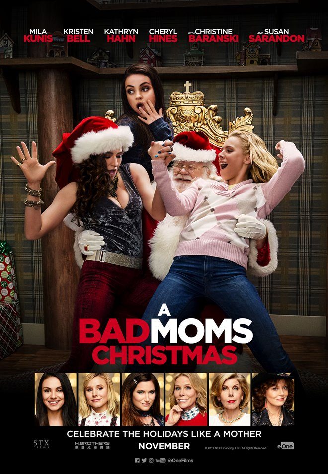 A Bad Moms Christmas Large Poster