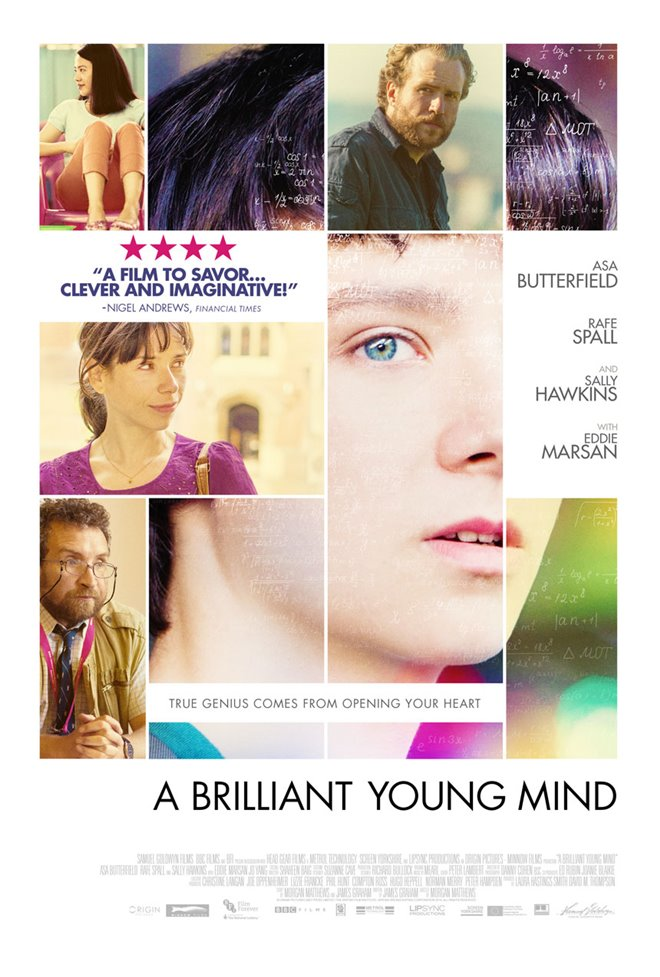 A Brilliant Young Mind Large Poster