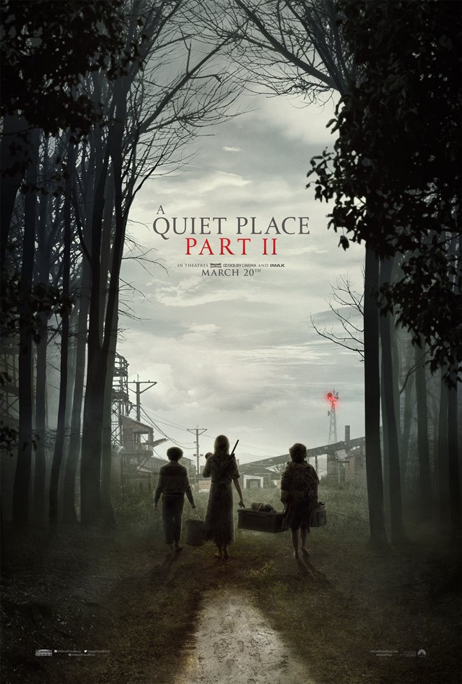A Quiet Place: Part II Poster
