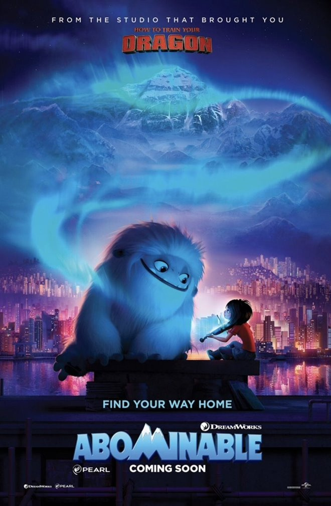 Abominable Large Poster