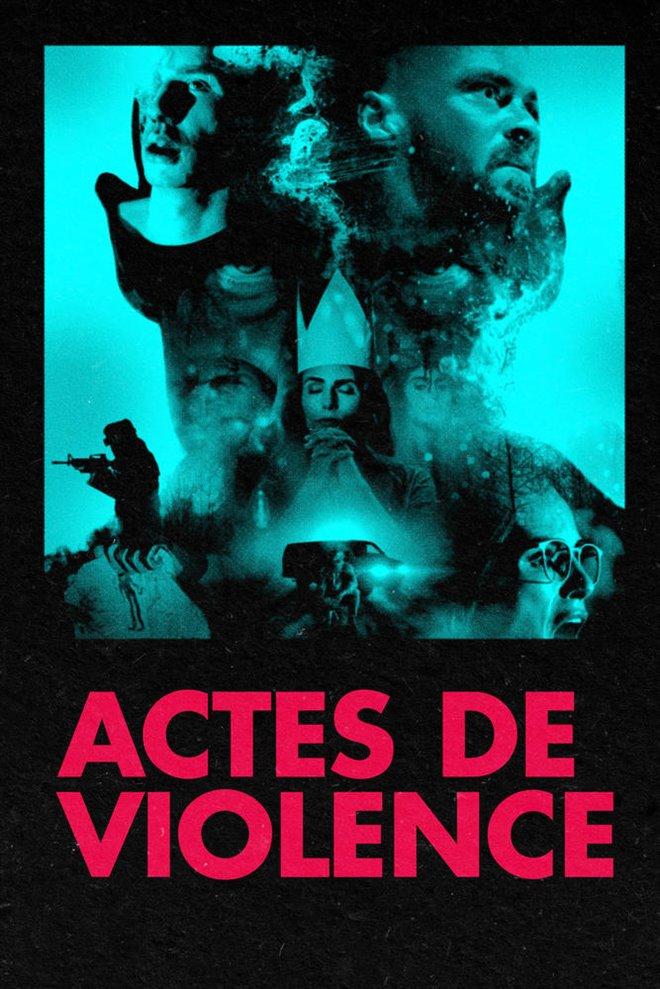 Actes de violence Large Poster