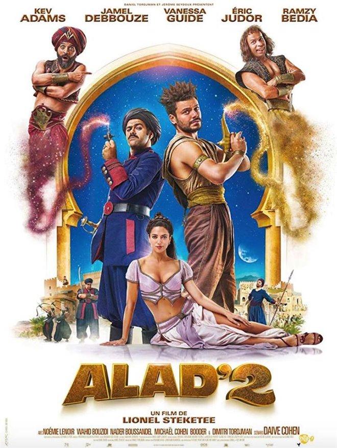 Alad'2 (v.o.f.) Large Poster