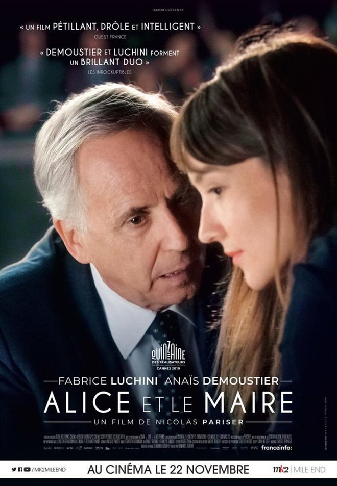 Alice and the Mayor Poster