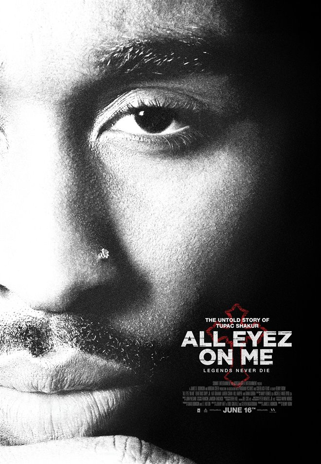All Eyez on Me Large Poster