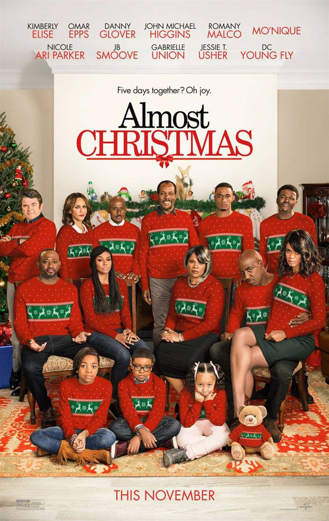 Almost Christmas Large Poster