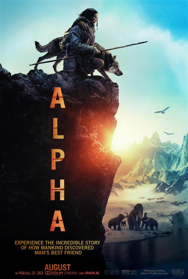 Alpha Large Poster