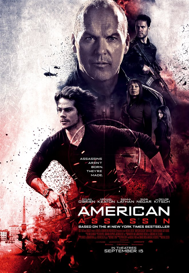 American Assassin Large Poster
