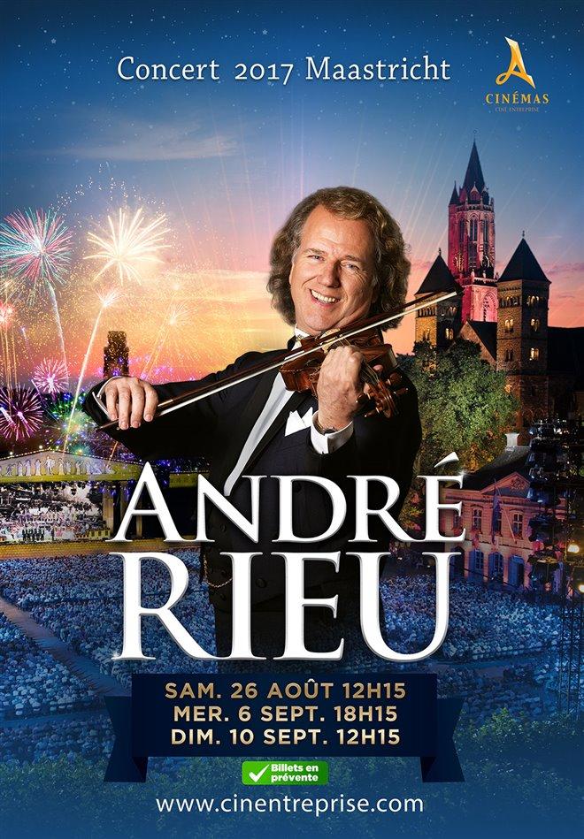 André Rieu : Le concert à Maastricht 2017 Large Poster