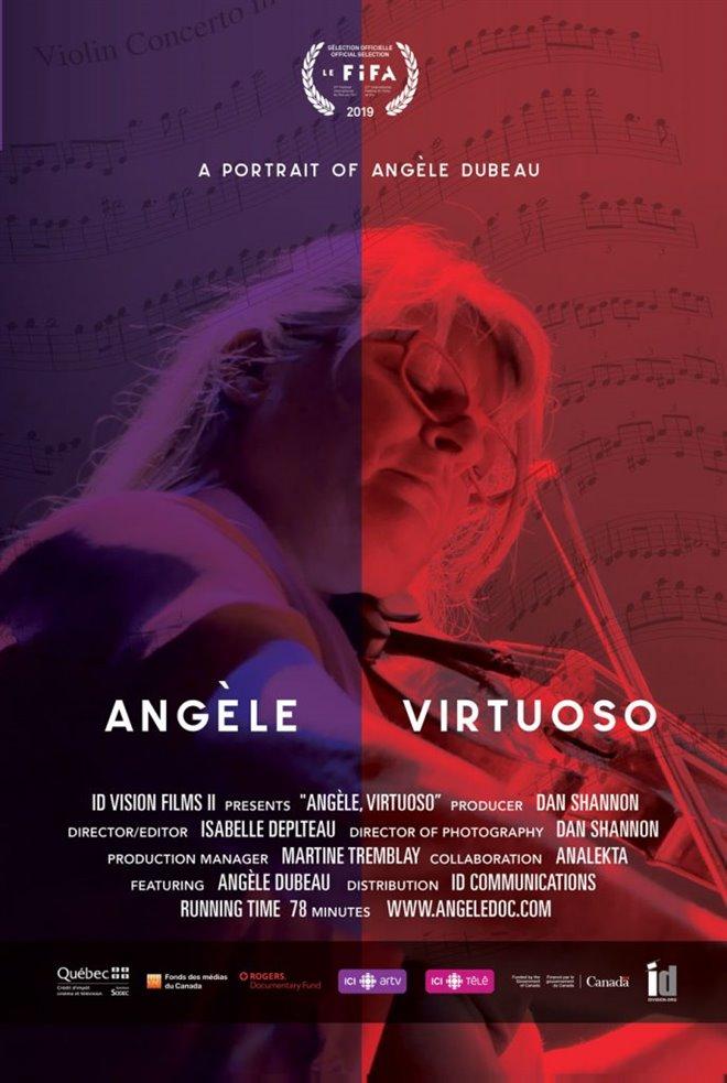 Angèle Virtuoso Large Poster
