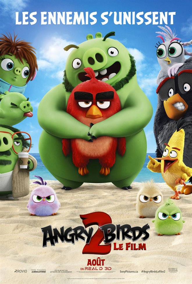 Angry Birds : Le film 2 Large Poster