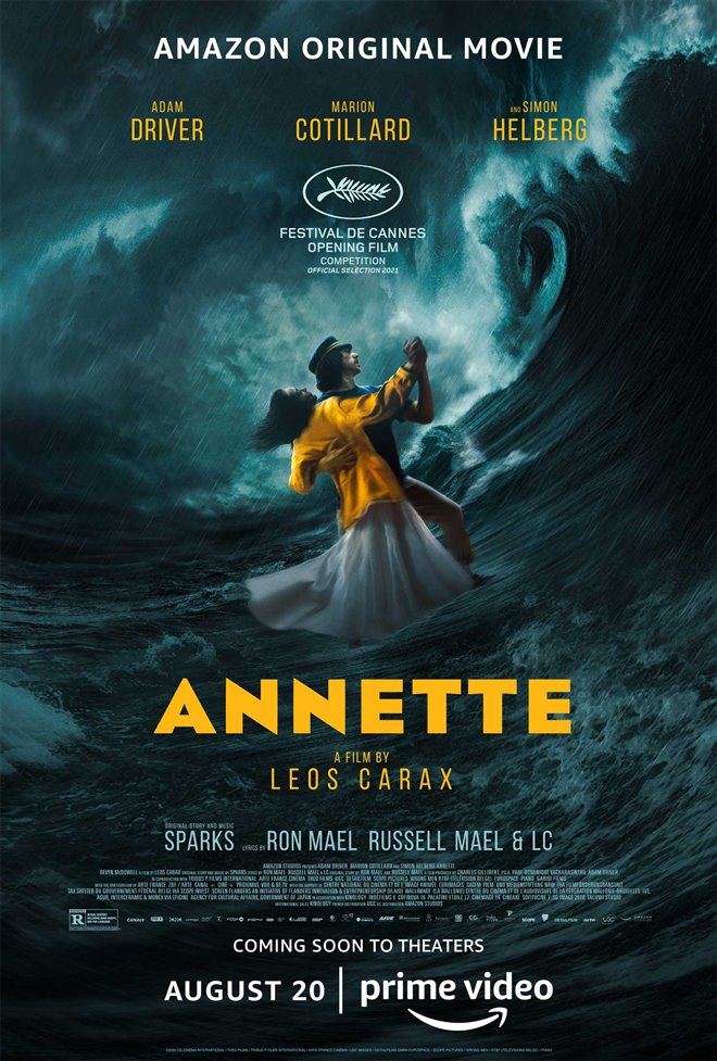 Annette Large Poster