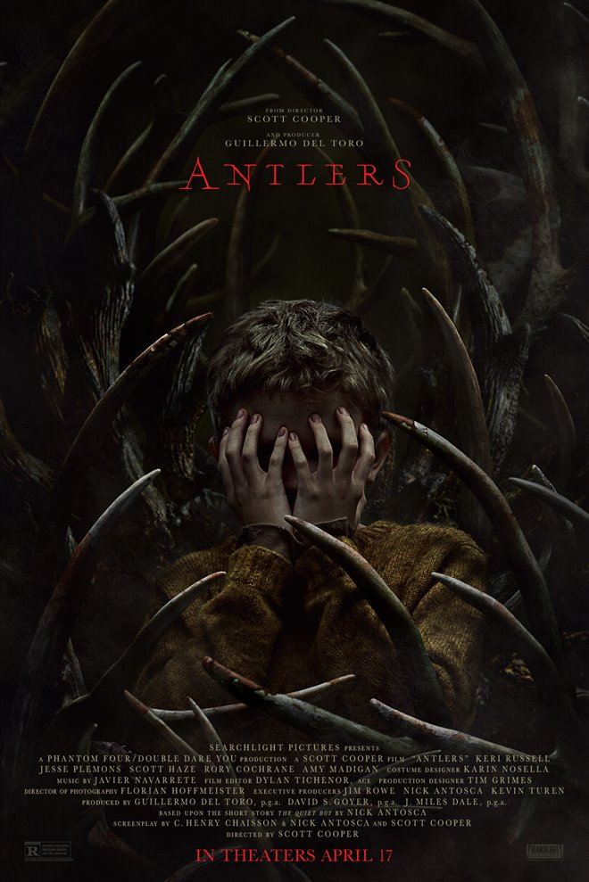 Antlers Large Poster