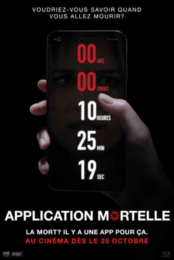 Application mortelle Large Poster