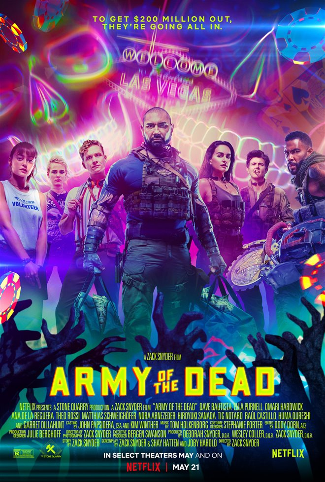 Army of the Dead (Netflix) Large Poster