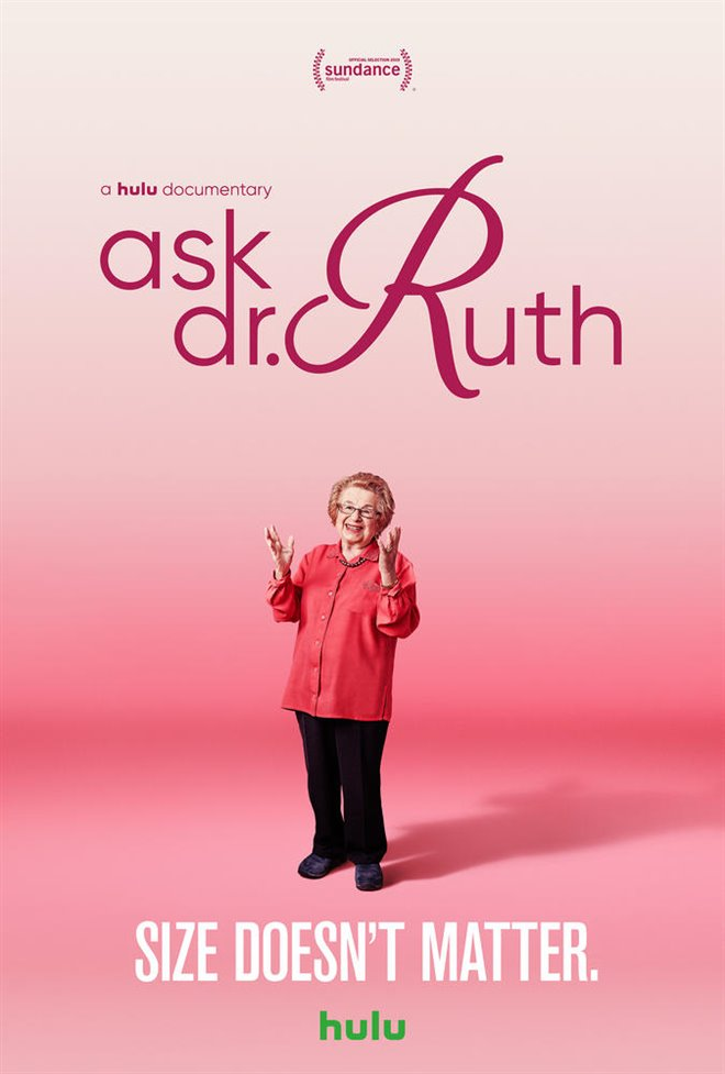 Ask Dr. Ruth (v.o.a.) Large Poster