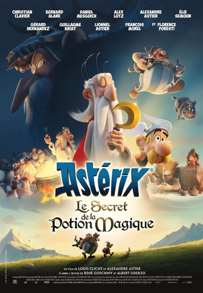 Astérix : Le secret de la potion magique Large Poster