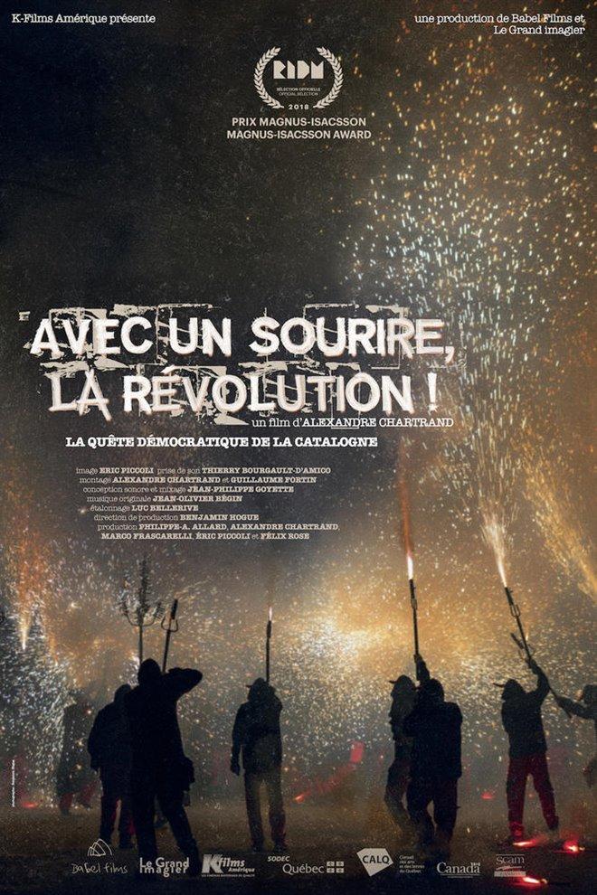 Avec un sourire, la révolution! Large Poster