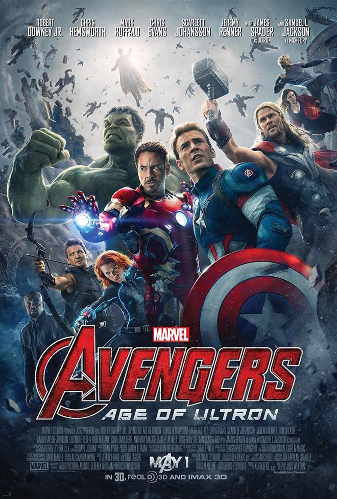 Avengers: Age of Ultron Large Poster