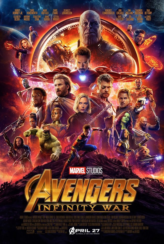 Avengers: Infinity War Large Poster