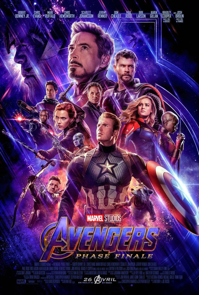 Avengers : Phase finale Large Poster