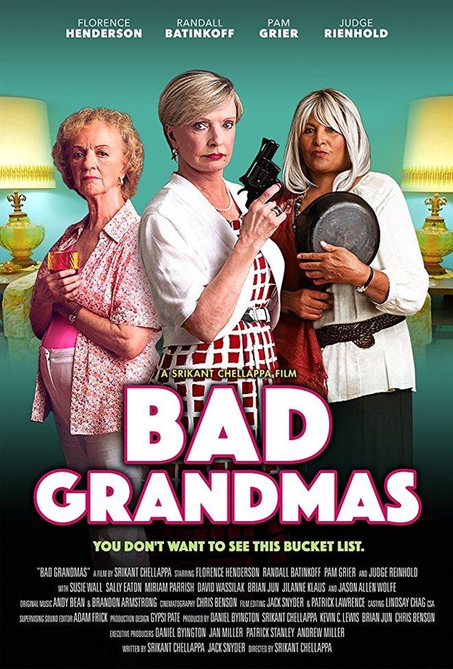 Bad Grandmas Large Poster