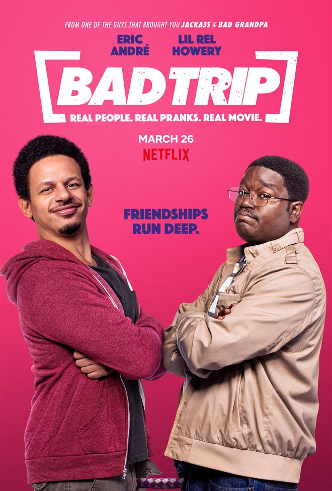 Bad Trip (Netflix) Large Poster