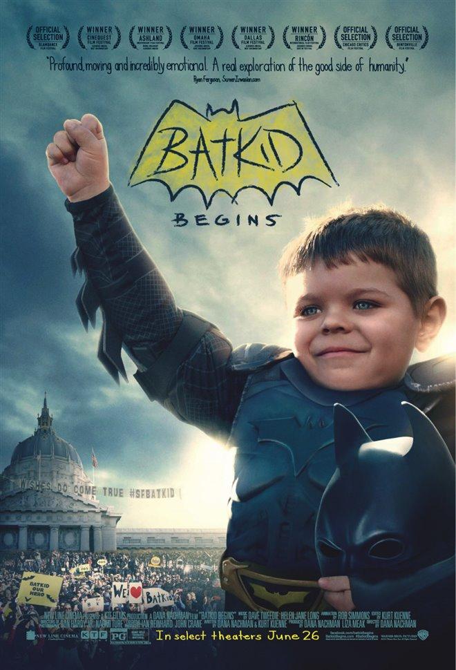 Batkid Begins Large Poster