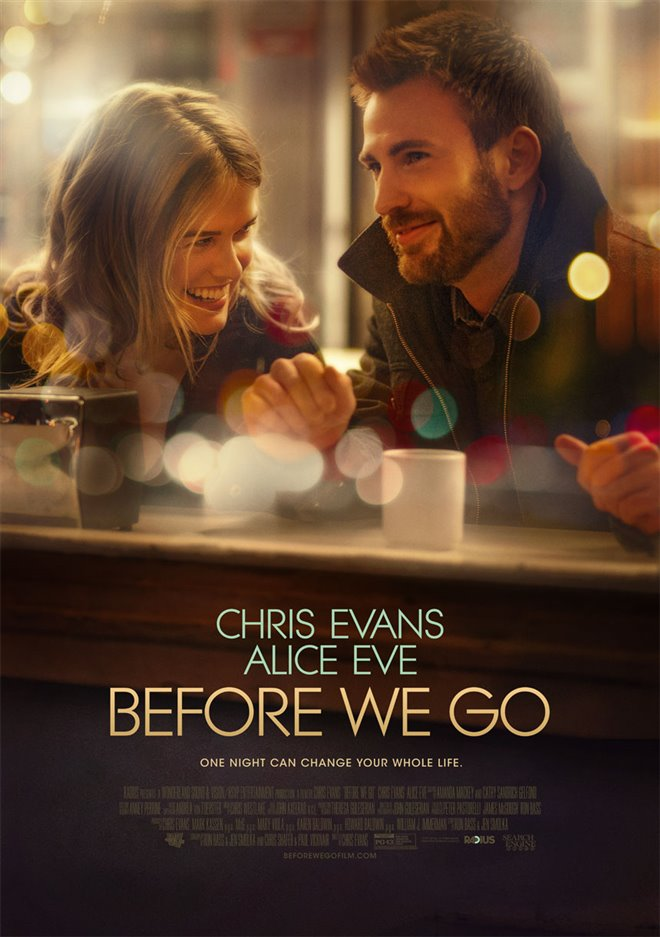 Before We Go Large Poster