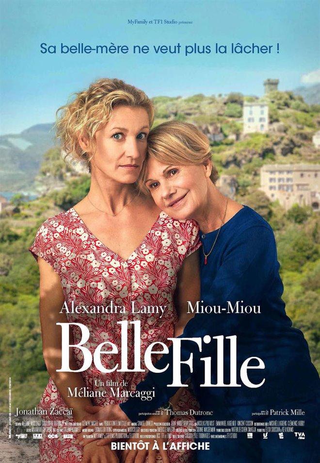 Belle fille Large Poster