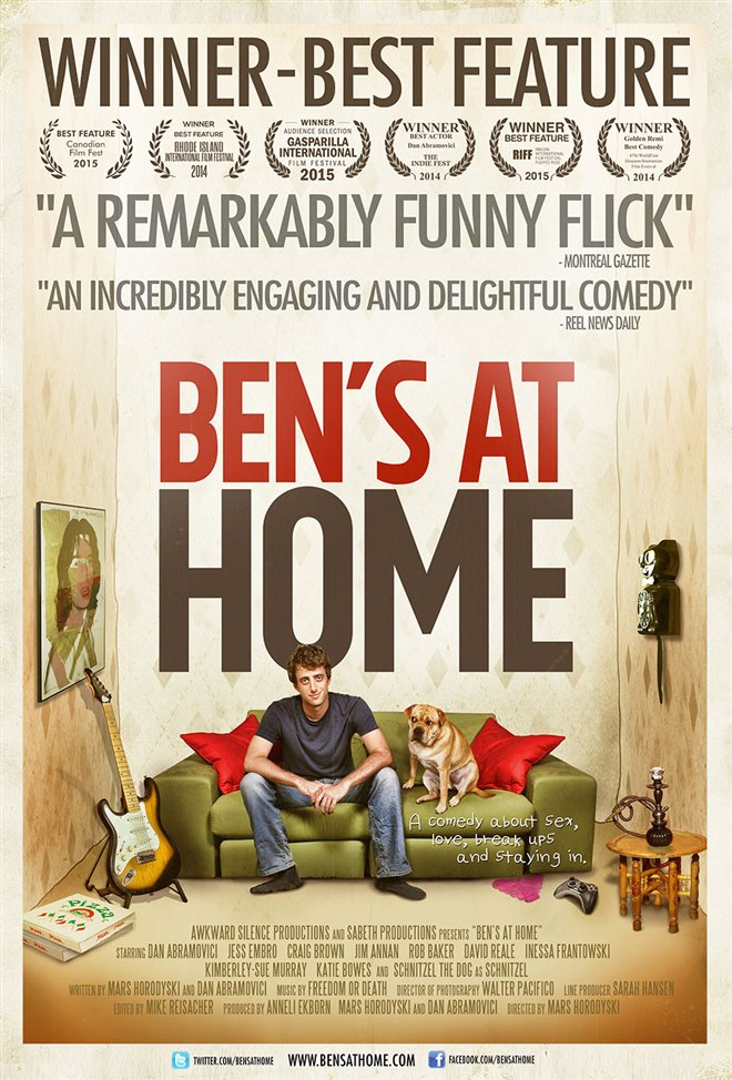Ben's At Home Large Poster